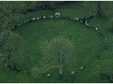Ireland Stone Circles Map Old European Culture Grange Circle