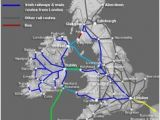 Ireland Trains Map tons Of Information On Sailrail Traveling Dublin to London Via