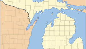 Iron River Michigan Map List Of Counties In Michigan Wikipedia