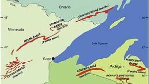 Irons Michigan Map Marquette Iron Range Wikipedia