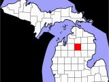 Isabella County Michigan Map Crawford County Michigan Wikipedia