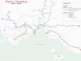 Istanbul Map Europe File Metro istanbul Map July 2013 Png Wikimedia Commons