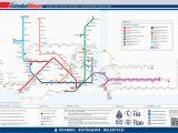 Istanbul Map Europe Public Transport Map Of istanbul Turkey Turkey istanbul