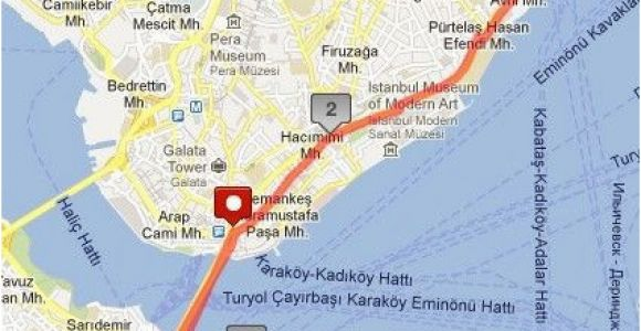 Istanbul On Europe Map Our istanbul Walking tour Map istanbul In A Day istanbul