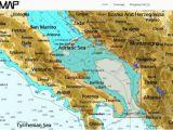 Italy Adriatic Coast Map C Map Nt Wide Adriatic Sea C Card Morer Schiffselektronik