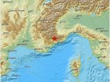 Italy Earthquake Map Earthquake Magnitude 2 1 northern Italy 2019 May 12 15 26 19 Utc
