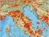 Italy Earthquake Map Earthquake Magnitude 4 2 northern Italy 2018 November 18 12
