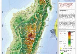 Italy Elevation Map Madagascar topography by Unosat Map Madagascar topography