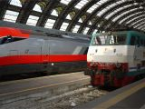 Italy High Speed Train Map Rail Transport In Italy Wikipedia