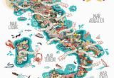 Italy Map Boot Antonie Corbineau Has Created An Illustrated Food Map Depicting
