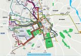 Italy Map with Airports Local Bus Routes Lines Stops Public Transport Alsa Network System