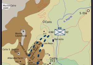 Italy Map Ww2 Battle Of Monte Cassino Facts World War 2 Battles Battle Of