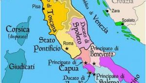 Italy On Map Of Europe Map Of Italy Roman Holiday Italy Map European History southern