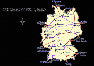 Italy Rail Map Train Routes In Italy Germany Rail Map and Transportation Guide