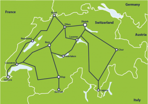 Italy Rail Map Train Routes In Italy Switzerland by Train From 307 Switzerland Train Routes Eurail Com