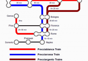 Italy Rail Map Train Routes In Italy Train to From Florence A Visitor S Guide Railway Travel Tips