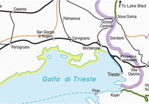 Italy Rail Map Train Routes In Italy Venice to Ljubljana by Train for 22 Venice to Zagreb for 40