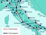 Italy Rail Network Map Fdrmc Italy