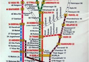 Italy Railway Map Find Your Way Around Mumbai with This Train Map In 2019 Churchgate