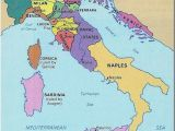 Italy Unification Map Italy 1300s Medieval Life Maps From the Past Italy Map Italy