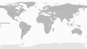 Italy Volcano Map Supervolcano Wikipedia