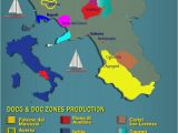 Italy Wine Region Map Campania Italy Major Appellations Wine Wineeducation Italy