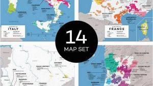 Italy Wine Region Map Maps Major Wine Countries Set In 2019 From Our Official Store