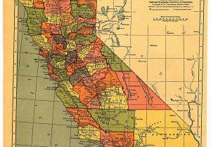 Jackson California Map California Map 1900 Maps California History California Map Map