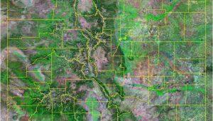 Jackson County Colorado Map Colorado County Map