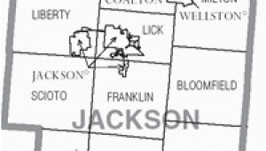 Jackson County Ohio Map Jackson County Ohio Wikipedia