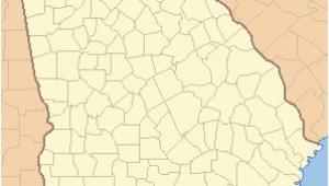 Jesup Georgia Map List Of Counties In Georgia Wikiwand