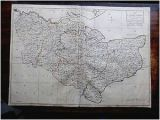 Kent In England Map Details About 1769 Kent andrews Dury Herbert Antique Index County Map original Kitchin London