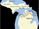 Kent Lake Michigan Map List Of Lakes Of Michigan Revolvy