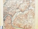 Kent Ohio Map Ohio Historical topographic Maps Perry Castaa Eda Map Collection