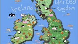 Kids Map Of England British isles Maps Etc In 2019 Maps for Kids Irish Art