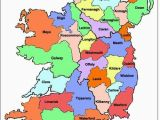Kings County Ireland Map Map Of Ireland Ireland Map Showing All 32 Counties Ireland In