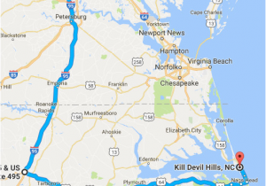 Kitty Hawk north Carolina Map How to Avoid the Traffic On Your Drive to the Outer Banks Updated