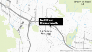 La Canada Flintridge Map 12 Year Old Boy Confesses to Detectives Claim Of Abduction attempt