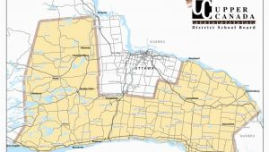 La Canada School District Map Ucdsb Schools Upper Canada District School Board