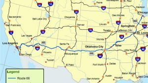 La Mesa Texas Map Maps Of Route 66 Plan Your Road Trip
