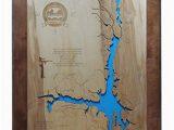 Lake Lure north Carolina Map Amazon Com Lake Lure north Carolina Framed Wood Map Wall Hanging