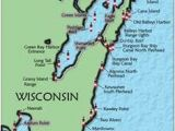 Lake Michigan Lighthouses Map 117 Best Wisconsin Lighthouses Images