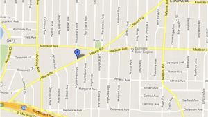 Lakewood Ohio Street Map Eye Center Of Lakewood