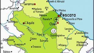 Lanciano Italy Map Pinterest