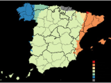 Language Map Of Spain Spain Wikipedia