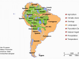Language Map Of Spain This Map Of south America Show the Variety Of Languages