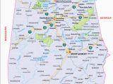 Large Map Of Alabama Large Detailed Map Of Alabama Unique Map Of Alabama Wallydogwear Com