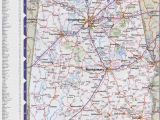 Large Map Of Alabama Map Of Alabama with Cities and towns