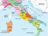 Large Map Of Italy Printable Regions Of Italy E E Map Of Italy Regions Italy Map Italy Travel
