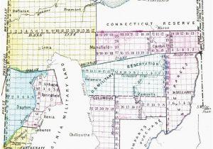 Large Map Of Ohio Map Lebanon Ohio Secretmuseum